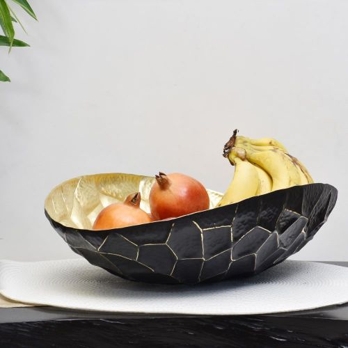 VICTORIA OVAL FRUIT BOWL GOLD