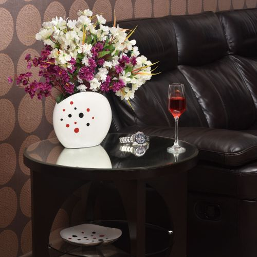 CLASSIC DOTTED FLOWER VASE
