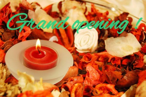 Grand opening !